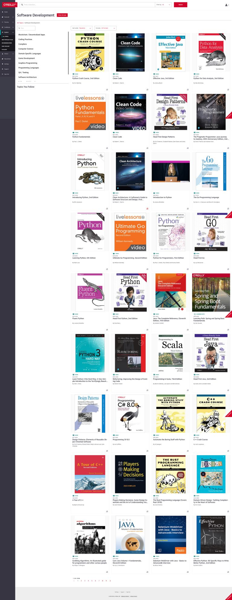 oreilly online learning books software dev image scaled