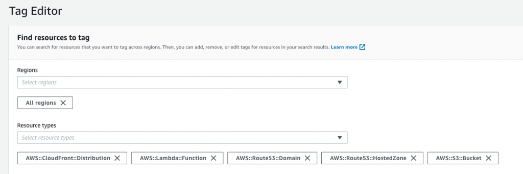 lightsail cost aws cost allocation tag editor